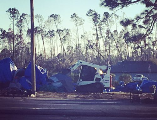 "What Is Left After The Ruins?: Tent City Cleared After Nonprofit Took Charge Of ""Aid"" Efforts"
