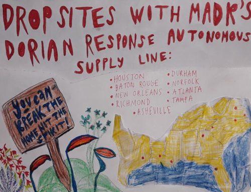 Dorian Response Autonomous Supply Line
